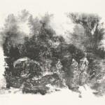 Zonder titel, 1980 litho, 50.3 x 70.0 cm