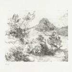 Zonder titel, 1976 litho, 39.0 x 56.3 cm